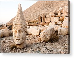 Stone Carving Acrylic Prints