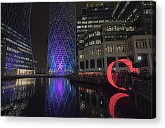 London City Acrylic Prints