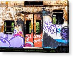 Abandoned Car Acrylic Prints
