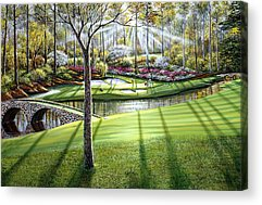 Augusta National Acrylic Prints