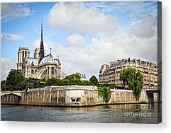 Notre Dame Cathedral Acrylic Prints
