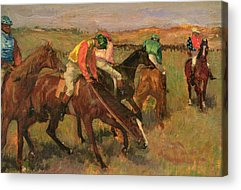 Before The Races Acrylic Prints