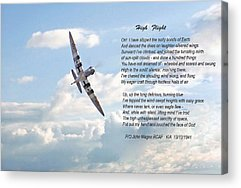 Poem Acrylic Prints