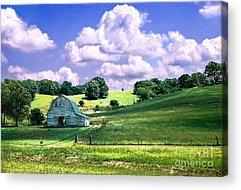 Agriculture Digital Art Acrylic Prints