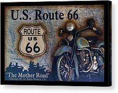 Historic Route 66 Acrylic Prints