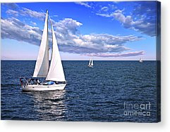 Sailing Acrylic Prints