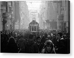 Crowds Acrylic Prints