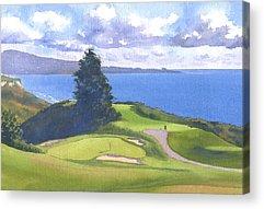 Golf Acrylic Prints
