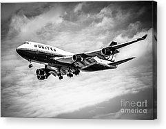 Boeing 747 Acrylic Prints