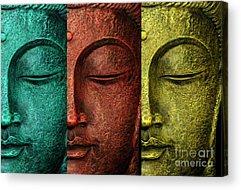 Budhism Acrylic Prints