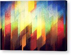 City Sunset Acrylic Prints