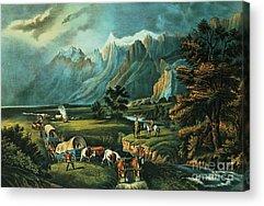 Pioneer Mountains Acrylic Prints