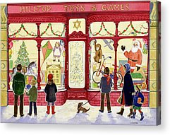 Toy Store Acrylic Prints
