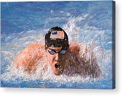 Pool Acrylic Prints
