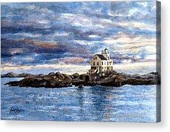 Katland Lighthouse Acrylic Prints