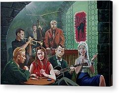 Red Norvo Paintings Acrylic Prints