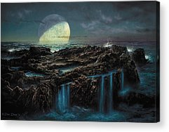 Astronomical Paintings Acrylic Prints