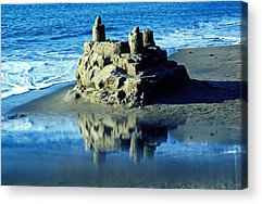 Sandcastle Acrylic Prints