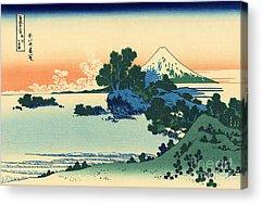Thirty-six Views Of Mount Fuji Acrylic Prints