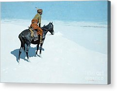 Cowboys And Indians Acrylic Prints