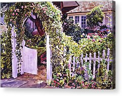 French Door Paintings Acrylic Prints