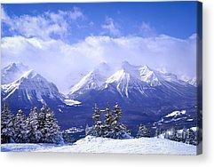 Mountain Scene Acrylic Prints