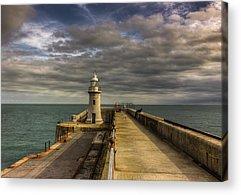 Folkestone Harbour Acrylic Prints