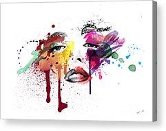 Ink Acrylic Prints
