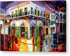 New Orleans House Acrylic Prints