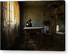 Abandoned House Acrylic Prints