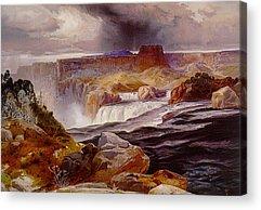 1876 Digital Art Acrylic Prints