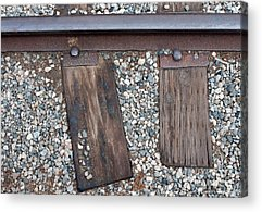 Railroad Tie Acrylic Prints
