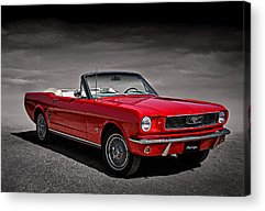 Ford Mustang Acrylic Prints