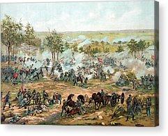 Battle Acrylic Prints