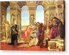 Botticelli Acrylic Prints