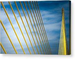 Sunshine Skyway Bridge Acrylic Prints