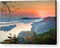 Sunrise Highway Acrylic Prints