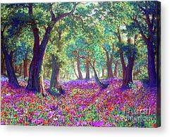 Lavender Field Acrylic Prints