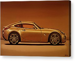 General Motors Automobiles Acrylic Prints