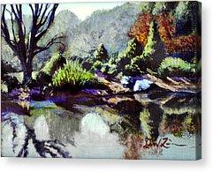 Brookside Gardens Paintings Acrylic Prints