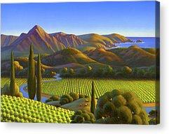 West Coast Acrylic Prints