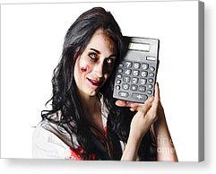 Accountancy Acrylic Prints