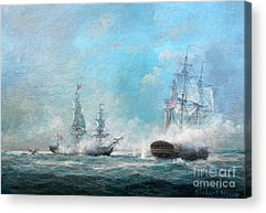 Battle Of The Atlantic Acrylic Prints