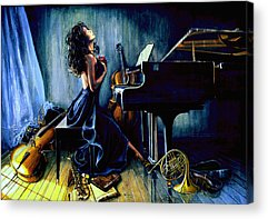 Piano Acrylic Prints
