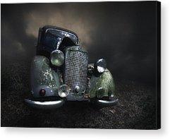 Headlights Acrylic Prints
