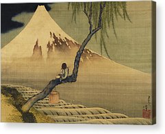 Thirty-six Views Of Mount Fuji Acrylic Prints