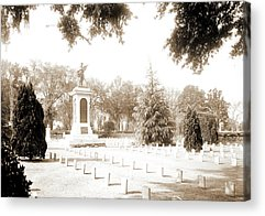 Confederate Monument Drawings Acrylic Prints