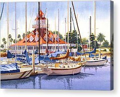 Boats Acrylic Prints