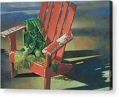 Adirondack Chair Acrylic Prints