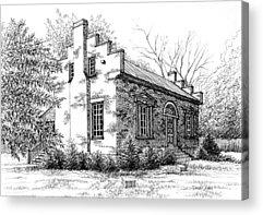 Carter House Drawings Acrylic Prints